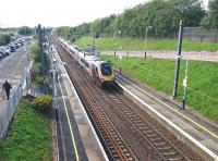 CrossCountry Trains 1708 Edinburgh Waverley - Birmingham New Street runs south through Musselburgh on 5 August 2017.<br><br>[Andy Furnevel&nbsp;05/08/2017]