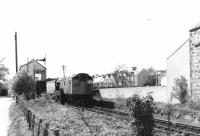 A token exchange for an eastbound 27 at Elgin West box in 1981.<br><br>[Crinan Dunbar&nbsp;//1981]