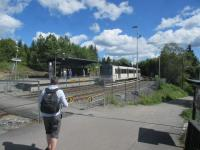 The mountain Oslo subway terminus at Frognerseteren.<br><br>[John Yellowlees&nbsp;18/07/2017]