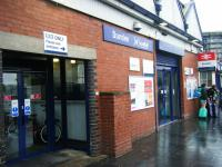 The station entrance at Dundee on 14th August 2017. This was closed in the late 1950s but has since been modernised and reopened.<br> <br><br>[Veronica Clibbery&nbsp;14/08/2017]