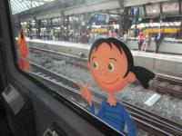 Smiley characters at Amsterdam Central!<br><br>[John Yellowlees&nbsp;22/07/2017]