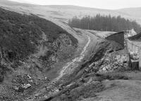 Looking towards Wanlockhead in 1989. The extension of the narrow gauge line from Glengonnar to Wanlockhead has been announced by the Lowthers Railway Society.<br><br>[Bill Roberton&nbsp;//1989]