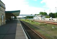 Platform scene at Boston, looking south in September 2002.<br><br>[Ian Dinmore&nbsp;23/09/2002]