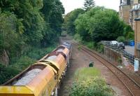 A PW train heads west through the site of Newington station on 27 August 2017. Newington closed to passengers in September 1962, since when the island platform has been removed and the track realigned.<br><br>[John Furnevel&nbsp;27/08/2017]