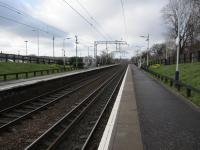 Waiting on next train, travelling from Motherwell to Edinburgh the long way round.<br><br>[Gordon Steel&nbsp;06/03/2017]