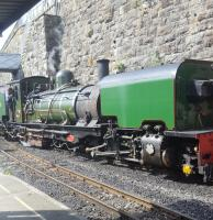 Seen at the new Caernarfon station. This is the 1997 terminus of the Welsh Highland Railway.<br><br>[John Yellowlees&nbsp;20/06/2017]