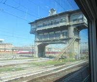 The rather impressive signal box at Milano Central.<br><br>[John Yellowlees&nbsp;19/09/2017]