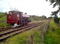 When you're 73 years old, it's easy to forget where you left things - like, three coaches. 'Mech Navvies No. 1' runs round its coaches on 19th August. View looks North West, towards Furnace Sidings.<br><br>[Ken Strachan&nbsp;19/08/2017]