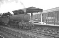 An unidentified B16 4-6-0 photographed with a train at York in 1962.<br><br>[K A Gray&nbsp;//1962]