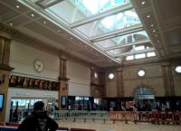The recent refurbishment at Nottingham station is perhaps intended to be the East Midlands' answer to Chicago Union Station [see image 26780]. Even the clock is similar to those in Chicago.<br><br>[Ken Strachan&nbsp;09/09/2017]