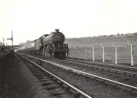 B1 4-6-0 61260 with a down train on Cowlairs incline in May 1954. <br><br>[G H Robin collection by courtesy of the Mitchell Library, Glasgow&nbsp;18/05/1954]