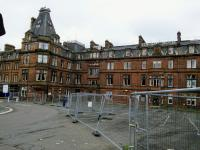 The Station Hotel in Ayr closed in 2013 but was not put up for sale until<br> 2017. Here it is on 10 October 2017, awaiting developments (or development).<br> <br><br>[David Panton&nbsp;10/10/2017]