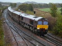 66746 passes Inverkeithing East Junction with the 'Royal Scotsman' from Dundee to Edinburgh on 24th October, possibly the last run of 2017.<br> <br> <br><br>[Bill Roberton&nbsp;24/10/2017]