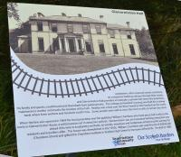 This information boards provides information on the private halt at Glenormiston Halt.<br><br>[Bill Roberton&nbsp;14/10/2017]
