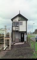 A shot of Forres signal box,now gone.<br><br>[John Gray&nbsp;//]