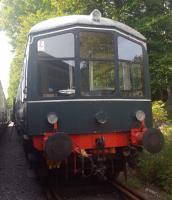 The Battery car resting at Milton of Crathes.<br><br>[John Yellowlees&nbsp;12/09/2017]