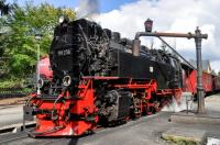 HSB 99 236 at Drei Annen Hohne with the 14:15 train to Brocken on 18 September 2017.  This locomotive is one of the batch of 17 New Steam Engines built in the 1950s for use on the 1000 mm gauge system in the Harz Mountains.  When converted to oil-burning in the 1970s, it carried the number 99 0236.  When restored to coal-burning in the 1980s it carried the number 99 7236-5 but now just sports 99 236!<br><br>[Norman Glen&nbsp;18/09/2017]
