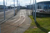 Tram access to the modern Starr Gate Depot in September 2017.<br><br>[Veronica Clibbery&nbsp;17/09/2017]