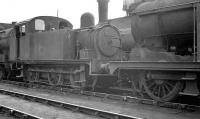 Hill ex-GER 0-6-0T 68649, built at Stratford Works in 1913 and about to end its days there in October 1961, having been withdrawn from 30A the previous month. <br><br>[K A Gray&nbsp;09/10/1961]