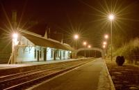 The bright lights of Dunkeld on a cold night in 1995. The view looks south.<br><br>[Ewan Crawford&nbsp;//1995]