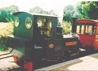 'Markeaton Lady' poses at the Markeaton Park platform in 2007. [see image 60033]<br><br>[Ken Strachan&nbsp;29/07/2007]