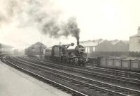 2P 40644 leaving Kilmarnock on 3 May 1954 with a train for Darvel.<br><br>[G H Robin collection by courtesy of the Mitchell Library, Glasgow&nbsp;03/05/1954]