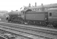 Gresley K3 2-6-0 61812 brings empty stock into Doncaster on 29 July 1961.<br><br>[K A Gray&nbsp;29/07/1961]