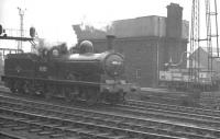 Heading for Darlington. Worsdell NER 1889 veteran (BR class J21) 0-6-0 65033 passing Newcastle Central on its way to Darlington on 7 May 1960. From there it would later work the RCTS/SDLS <I>Stainmore Special</I> (or 'J21 Rail Tour') to Carlisle and back [see image 32382].<br><br>[K A Gray&nbsp;07/05/1960]