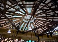 The roundhouse roof is well preserved. The building is now a restaurant for Derby College.<br><br>[Ken Strachan&nbsp;07/12/2017]