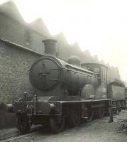 Standing alongside Eastfield shed awaiting disposal on 26 June 1950 is former NBR class D31 4-4-0 no 62282. The 1890 veteran had been withdrawn from Carlisle Canal during February of that year.