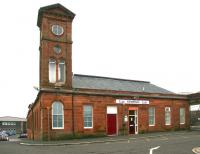 The main building and tower at Kilmarnock in March 2006.<br><br>[John Furnevel&nbsp;27/03/2006]