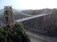 The Clifton Suspension Bridge, with the Portishead line in the background running alongside the River Avon.<br><br>[Ewan Crawford&nbsp;//]