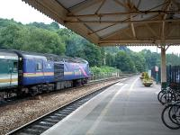 A First Great Western 125 leaving Bath Spa westbound .<br><br>[Ewan Crawford&nbsp;//]