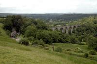Lambley from the south. The waggonway continued north and then west and the railway crossed the viaduct.<br><br>[Ewan Crawford&nbsp;//]