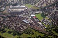 Aerial view of Motherwell MPD.<br><br>[Ewan Crawford&nbsp;//]