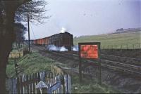 70005 south of Kirkconnel with up van train<br><br>[John Robin&nbsp;02/04/1965]