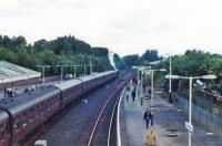 46229 at Dumfries with Glasgow train.<br><br>[John Robin&nbsp;06/07/1996]