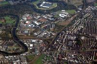 Aerial view of Rutherglen looking east.<br><br>[Ewan Crawford&nbsp;//]