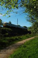 Southbound from Milngavie in lush greenery.<br><br>[Ewan Crawford&nbsp;//]