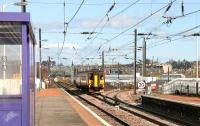 Edinburgh - Glasgow Central service approaching Slateford in March 2006. <br><br>[John Furnevel&nbsp;21/03/2006]