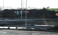 Locomotive lost in the coal at Killoch.<br><br>[Ewan Crawford&nbsp;//]
