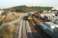 Looking north in Kirkby-in-Ashfield at Kirkby Lane End Junction.<br><br>[Ewan Crawford&nbsp;//]