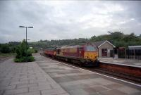Eastbound mail at Lostwithiel.<br><br>[Ewan Crawford&nbsp;//]