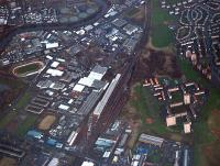 Aerial view of Polmadie Depot looking east.<br><br>[Ewan Crawford&nbsp;//]