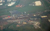 Aerial view of Mossend Yard. Looking east.<br><br>[Ewan Crawford&nbsp;//]