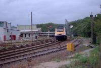 125 approaches Lostwithiel level crossing at speed.<br><br>[Ewan Crawford&nbsp;//]