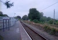 The cut-back line at Gunnislake looking to the buffer.<br><br>[Ewan Crawford&nbsp;//]