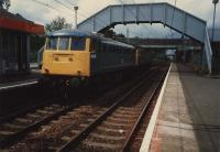 Heading round the circle at Blantyre.<br><br>[Ewan Crawford&nbsp;12/06/1987]