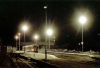 Southbound train in the heavy frost at Muir of Ord.<br><br>[Ewan Crawford&nbsp;//]