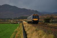 Approaching Kingussie from the south.<br><br>[Ewan Crawford&nbsp;05/11/2005]